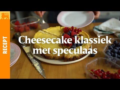 Biocheesecake met speculaas