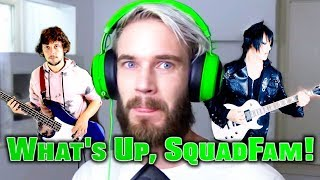 """""""What's Up SquadFam!"""" (PewDiePie Remix) 