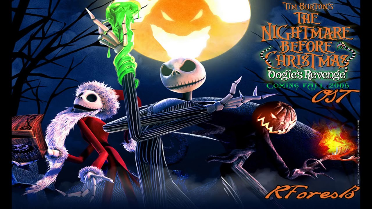 The Nightmare Before Christmas soundtrack - YouTube