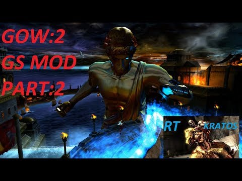 GOD OF WAR 2 GRAPHICS MOD PCSX2 4K GAMEPLAY WALKTHROUGH : PART 2 ENCOUNTER  WITH ZUES AND HELIOS - Видео