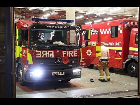 London Fire Brigade - *BRAND NEW* Mk3 pump ladder A301 LFB Islington responding