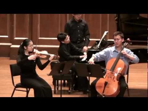 Brahms Piano Trio #2 in C major