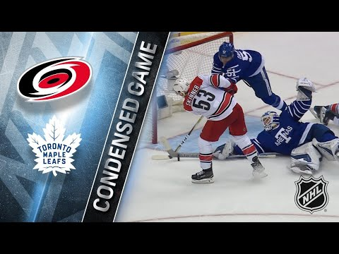 12/19/17 Condensed Game: Hurricanes @ Maple Leafs