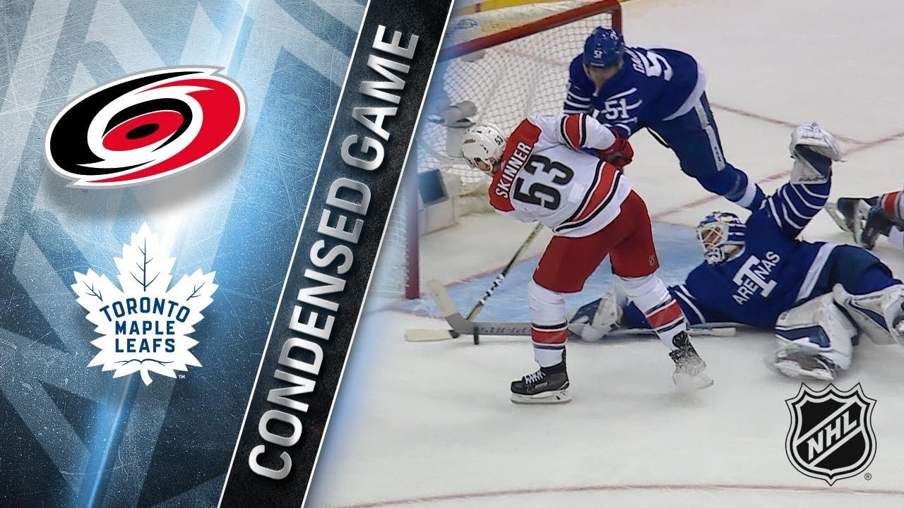 12 19 17 Condensed Game  Hurricanes   Maple Leafs - YouTube 9b9642e5a