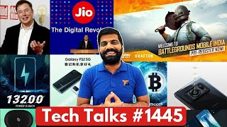 Tech Talks #1445 - Battlegrounds Mobile India First Look, SD 778 5G, Android 12, Jio Submarine Cable