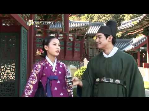 Hậu trường phim Dong Yi vui vẻ