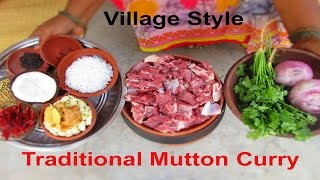 Traditional Mutton Curry Recipe Cooking in Village Style | VILLAGE FOOD