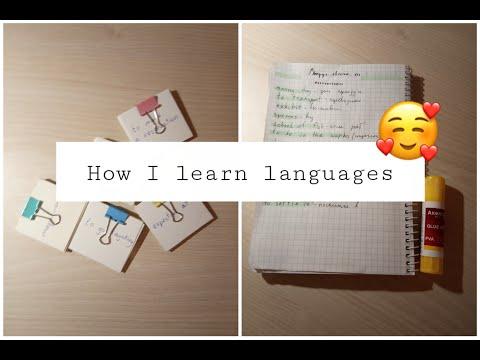 How I learn languages | motivation | Как я учу языки (английский)