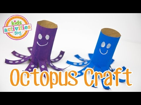 Toilet Paper Roll Craft Make An Adorable Octopus