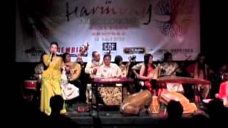 Collaboration Harmony Chinese Music Group - Ega Robot Percussion - Es Lilin