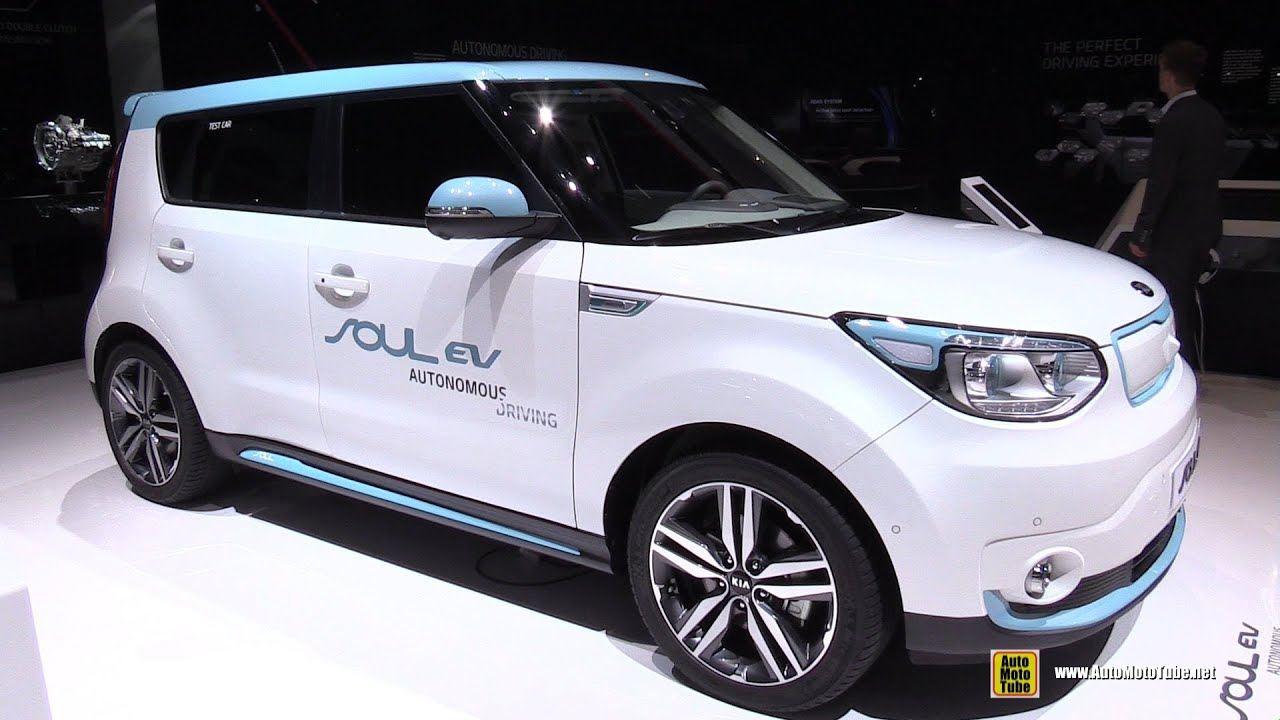 2016 KIA Soul EV Electric Viehicle Exterior and Interior