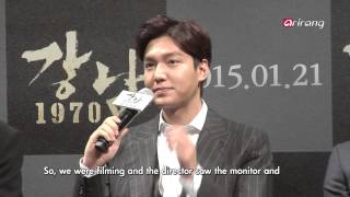 "Video Showbiz Korea-PRESS CONFERENCE OF THE MOVIE ""GANGNAM 1970""   영화 강남 197 download MP3, 3GP, MP4, WEBM, AVI, FLV Maret 2018"