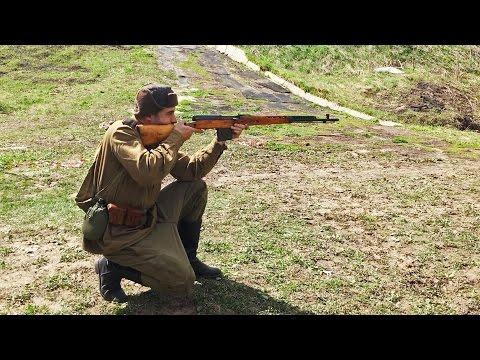 Стрельба из МПК СВТ40 7.62х54мм / SVT40 shooting 7.62x54mm