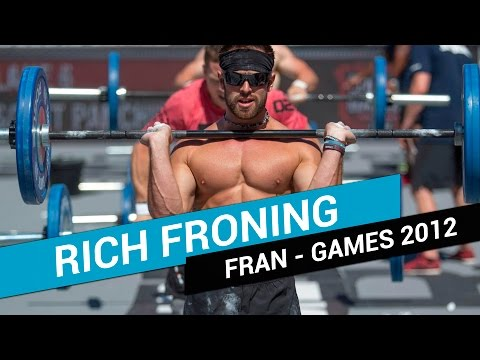 WOD HÉROES FRAN RICH FRONING CrossFit Games 2012