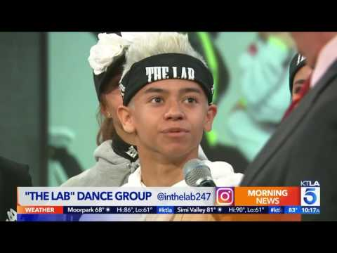 The Lab on KTLA Morning News