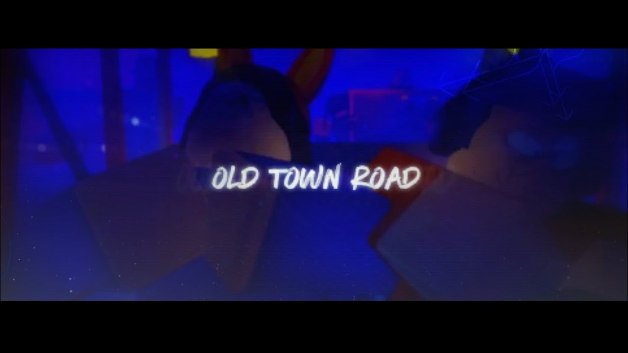 Old Town Road In Roblox Lil Nas X Old Town Road Roblox Music Video Song Id Youtube