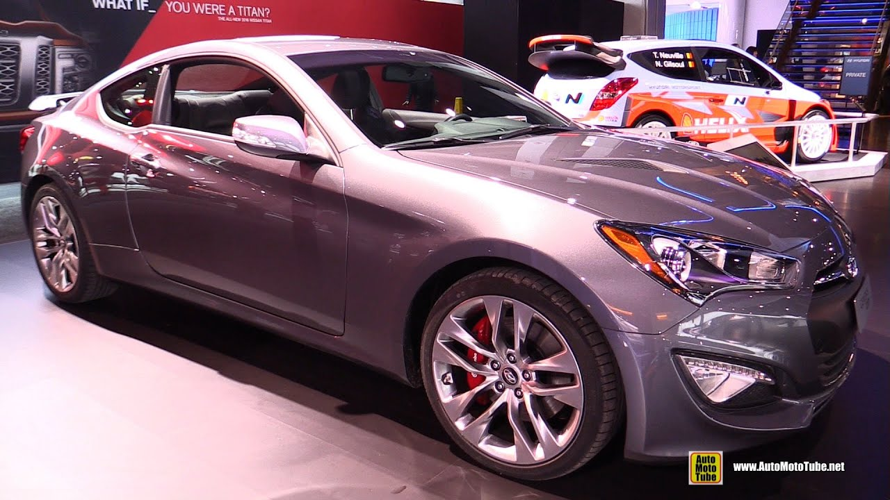2015 Hyundai Genesis Coupe - Exterior and Interior Walkaround - 2015