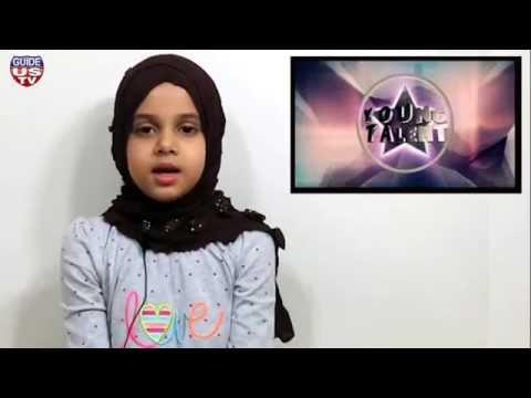 Maryam is reciting Surah Nooh at GuideUS TV, USA (EP# 4)