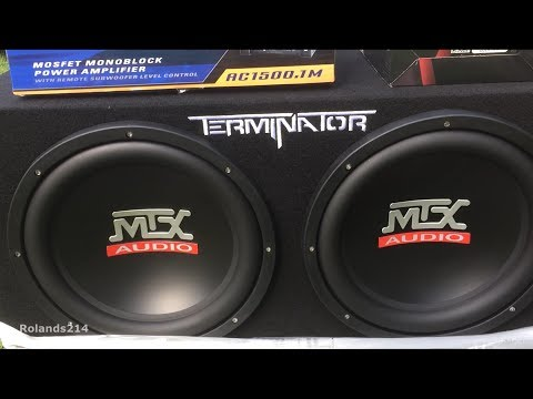 "MTX Terminator 12"" Subs - Review + Installation (Dodge Charger)"