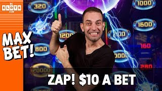 ⚡ $10/BET on LIGHTNING ZAP 💰 $2000 @ The D Las Vegas ✪ BCSlots (S. 2 • Ep. 3)