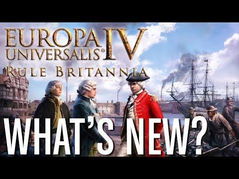 What's New In EU4: Rule Britannia?