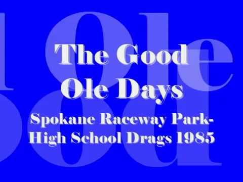 Spokane Raceway Park High School Drags 1985