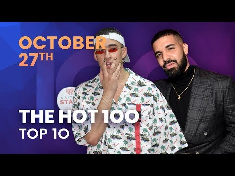 Billboard Hot 100 Top 10 October 27th, 2018 Countdown