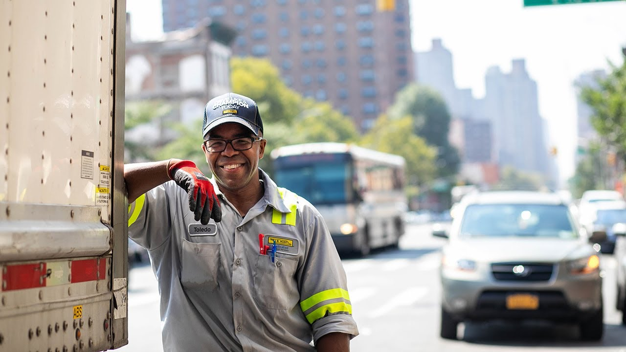 Driving Jobs Nyc >> A Day In The Life Of A New York City Truck Driver Toledo Delivery Vlog