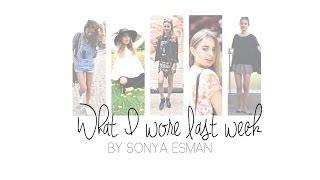 What I Wore This Week ☀ Summer Fashion by Sonya Esman Thumbnail