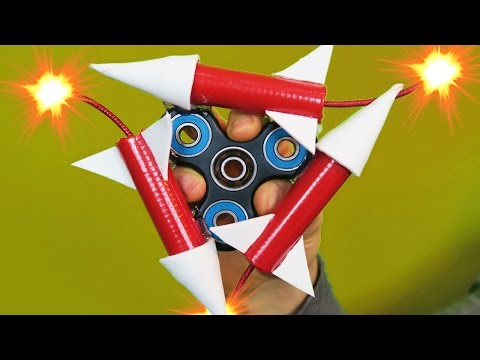 1000MPH FIDGET SPINNER (ROCKET POWERED!)