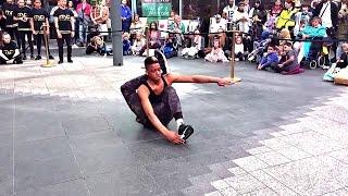 BONETICS - Insane bone cracking dancer - Britains Got Talent dance crew live dancing