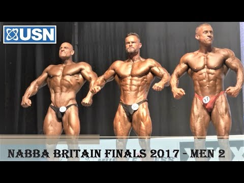 NABBA USN Britain Finals 2017 - Men 2