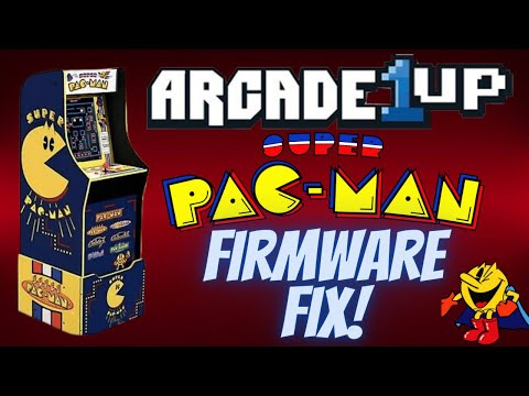 Arcade1Up Super Pac-Man Firmware Release!  Is it Good to Go? from PDubs Arcade Loft