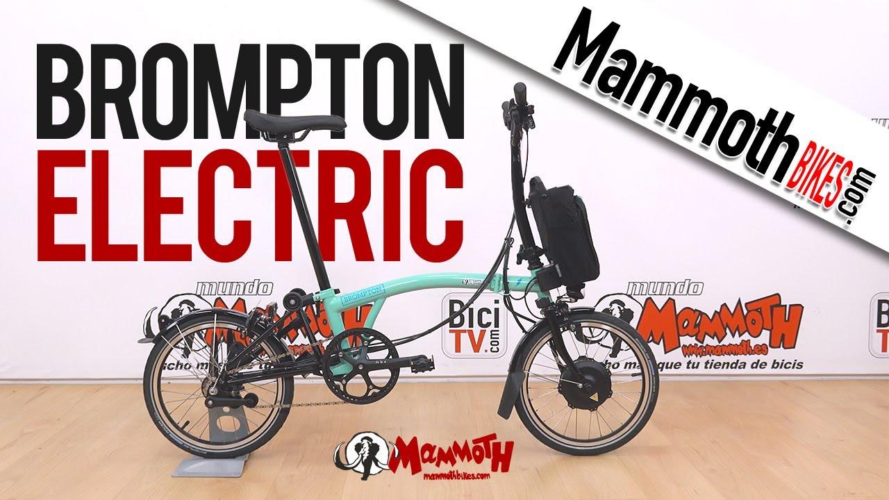 BROMPTON ELECTRIC 2021. Test a fondo