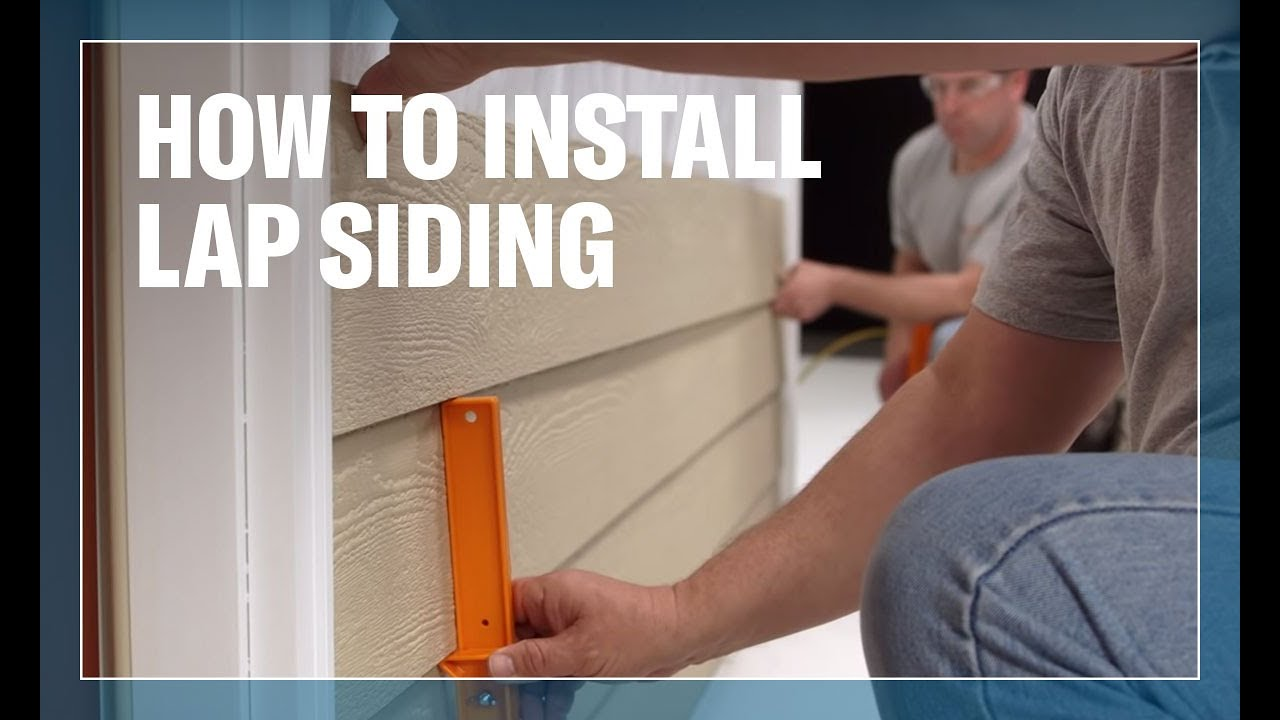 How To Install Lp 174 Smartside 174 Trim Amp Siding 2 Of 8 Lap