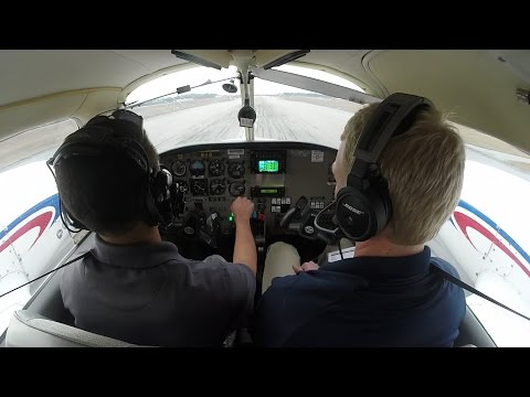 Piper Seminole (PA-44) Multi Engine Training | Steep Turns, Slow Flight, Stalls | Cockpit Audio