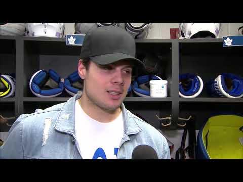 Maple Leafs Practice: Auston Matthews - November 23, 2017