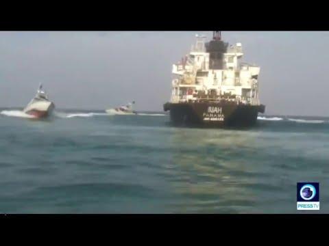 شاهد ناقلة النفط التي يتحتجزها الحرس الثوري الإيراني  - نشر قبل 52 دقيقة