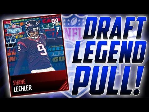 INSANE 98 DRAFT LEGEND LECHLER PULL!-NFL Draft Promo-Madden Mobile 17
