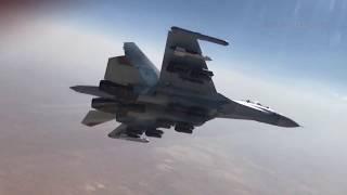 Бомбовые удары СУ-27 и СУ-34 ВКС РФ в Сирии (2015-2017)