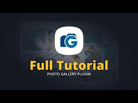 WordPress Photo Gallery Plugin Full Tutorial