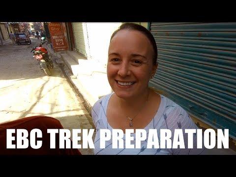 Buying Trekking Gear in Thamel /// Everest Base Camp Trek w/Kids