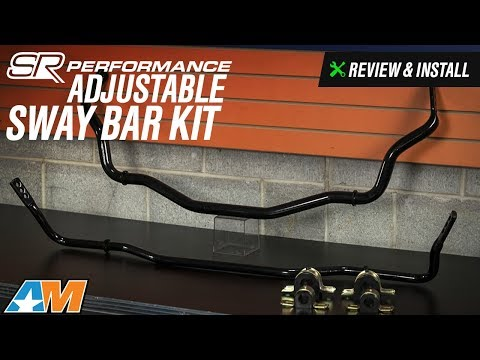 2015-2017 Mustang SR Performance Adjustable Sway Bar Kit Review & Install