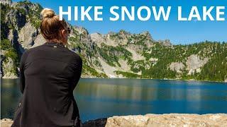 Snow Lake-Alpine Lakes Wilderness Snoqualmie Pass