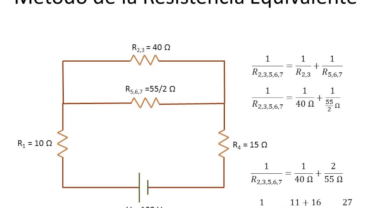 Circuito Basico Electrico : Fisica circuitos electricos basicos ejemplo youtube
