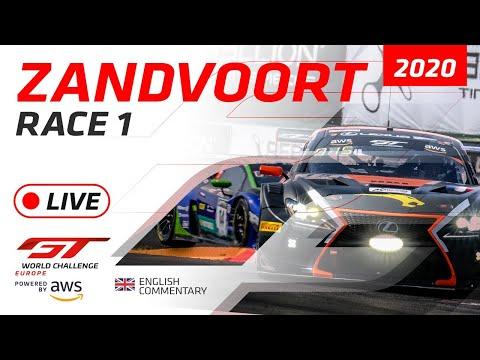 RACE 1 - AWS GTWC - ZANDVOORT 2020 - ENGLISH