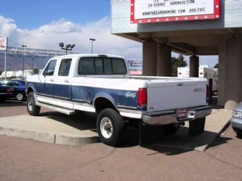 cn1315 1995 ford f 150 diesel crew cab xlt 4x4 for sale youtube. Black Bedroom Furniture Sets. Home Design Ideas
