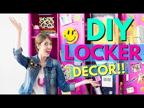 DIY Locker Decor for Back to School!