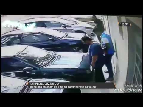 Bandidos estavam de olho na caminhonete da vítima