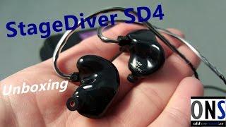 StageDiver SD4 Unboxing en español
